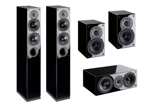 INDIANA LINE TESI HIGH GLOSS HOME CINEMA SET 5.0